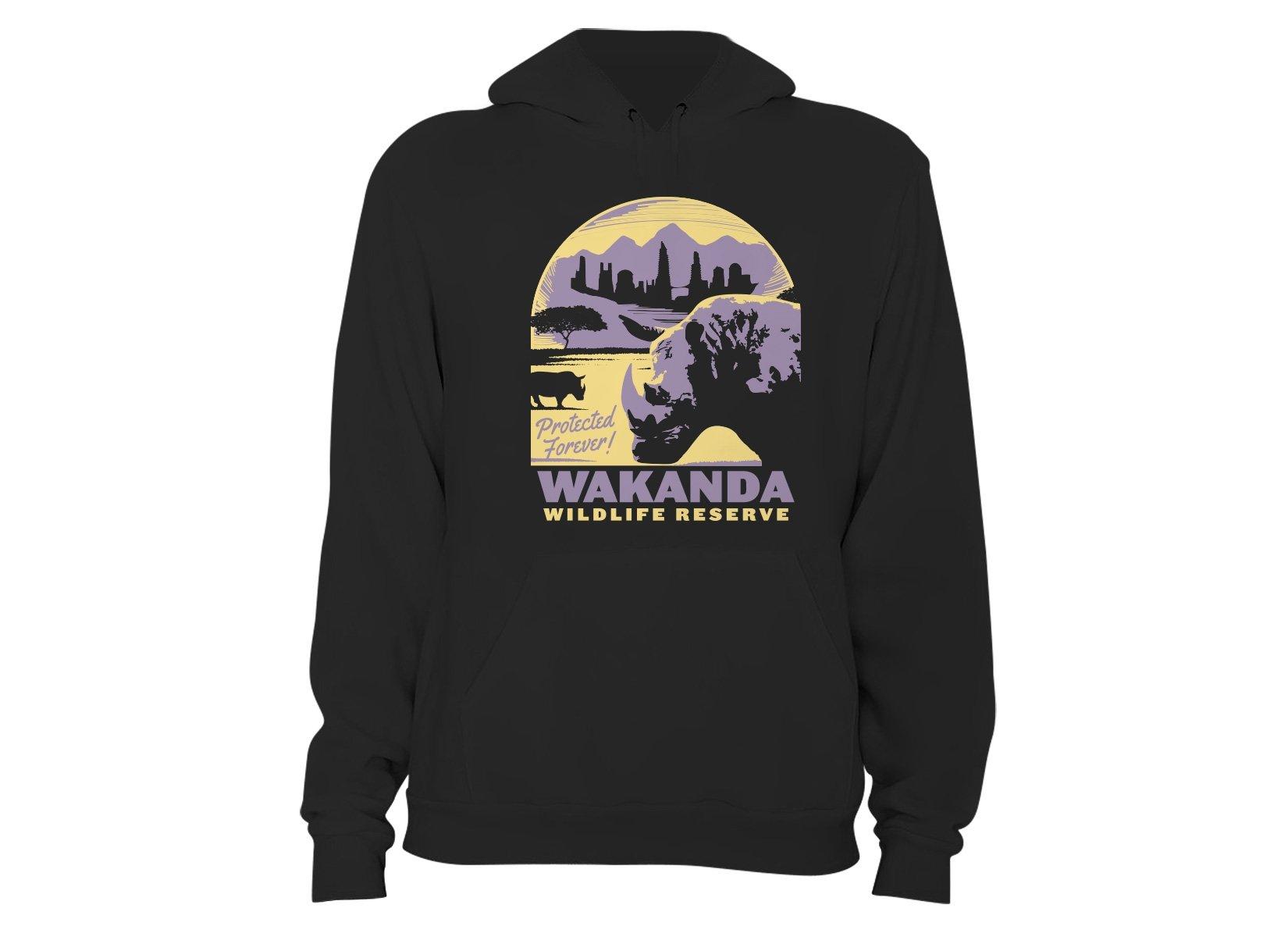 Wakanda Wildlife Reserve on Hoodie