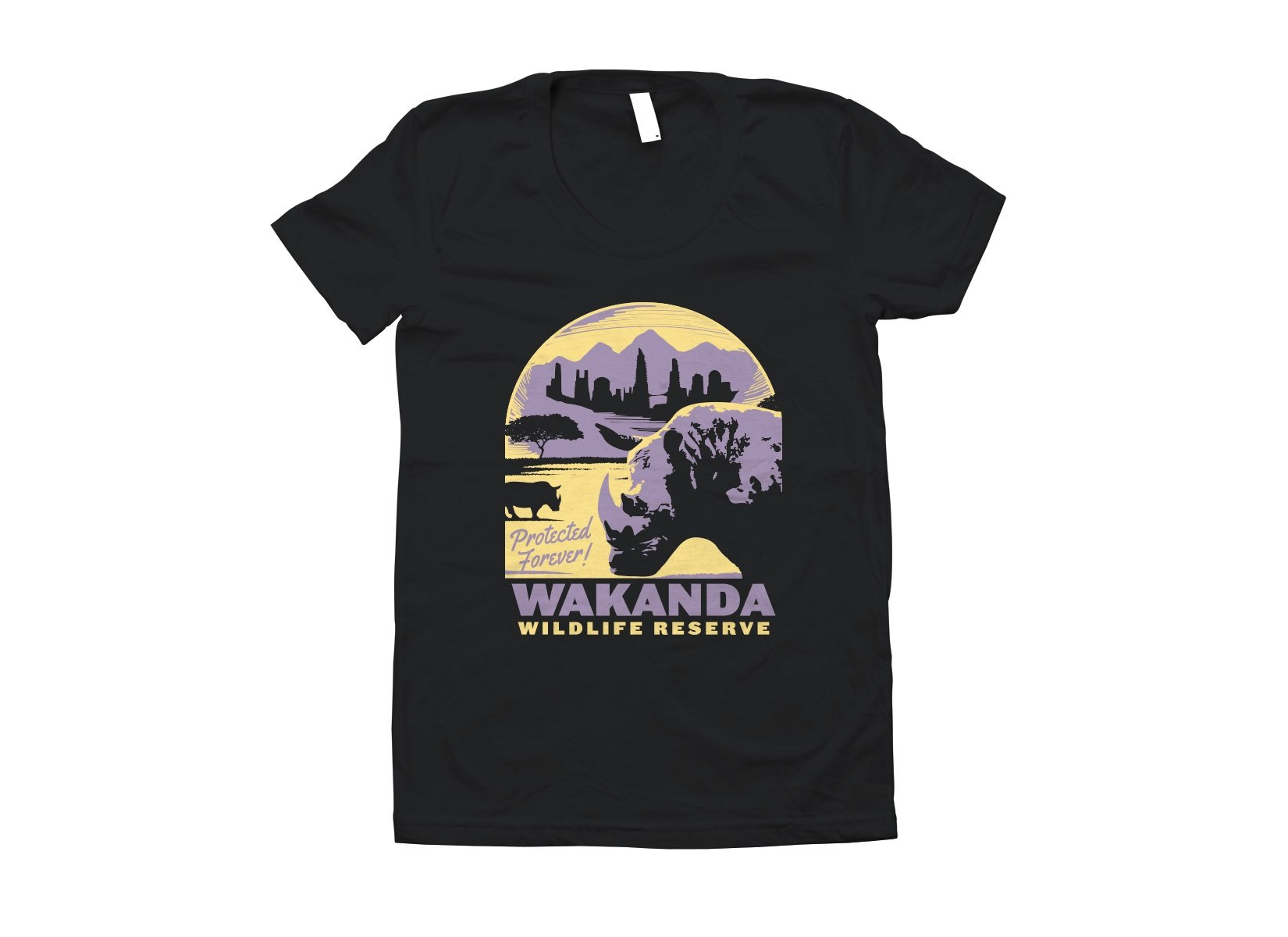 Wakanda Wildlife Reserve on Juniors T-Shirt