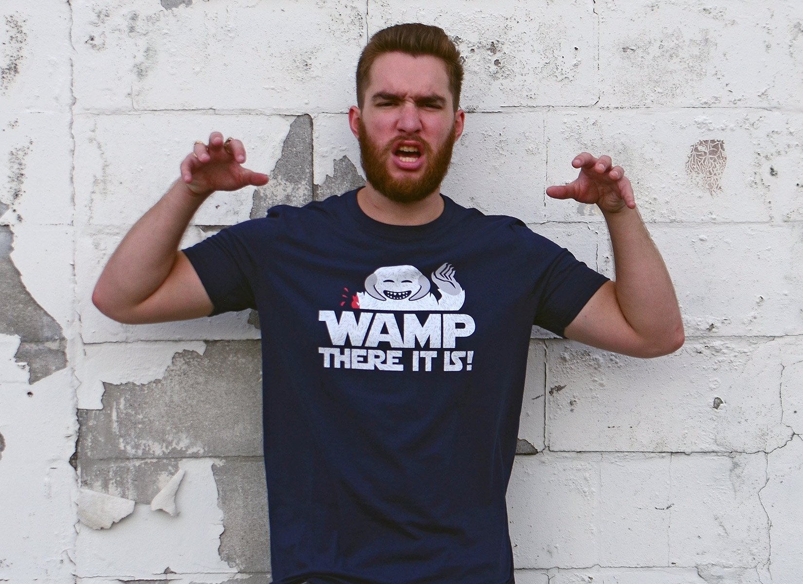 Wamp There It Is on Mens T-Shirt