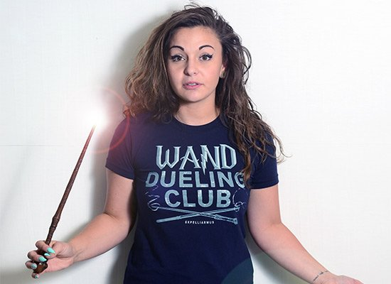 Wand Dueling Club on Juniors T-Shirt