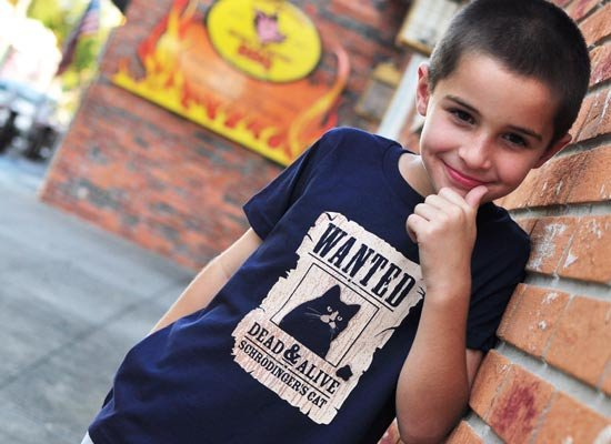 Wanted Dead And Alive on Kids T-Shirt
