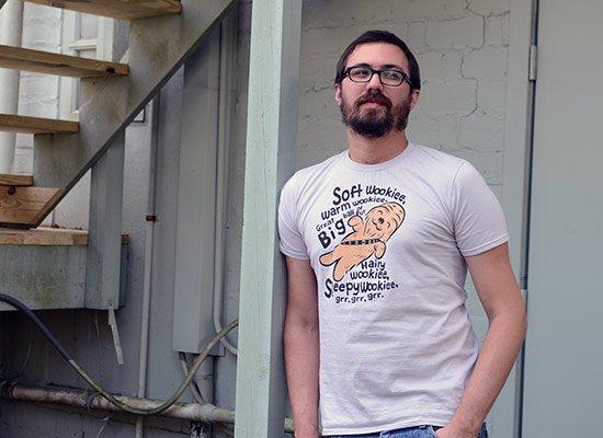 Soft Wookiee, Warm Wookiee on Mens T-Shirt