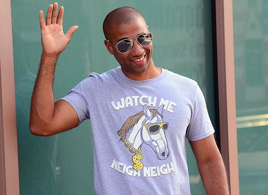 Watch Me Neigh Neigh on Mens T-Shirt
