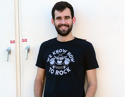 We Know How To Rock on Mens T-Shirt