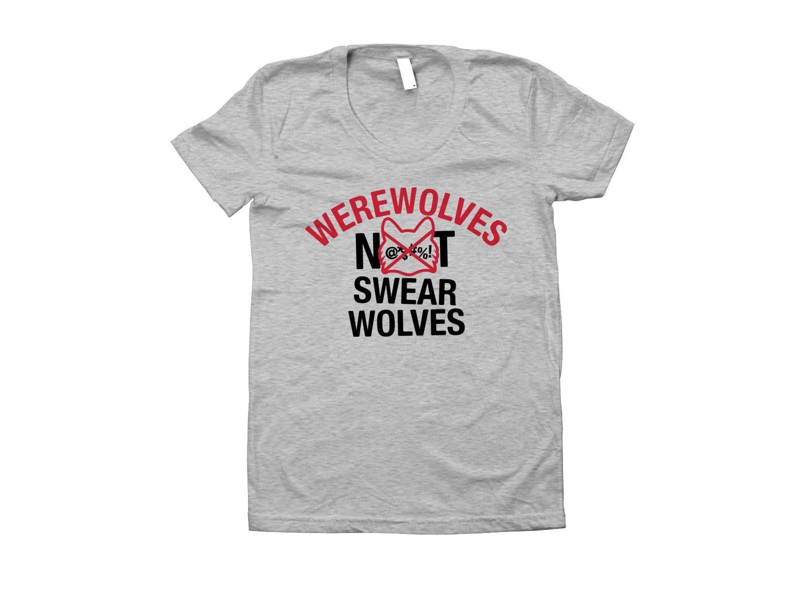 Werewolves Not Swearwolves on Juniors T-Shirt