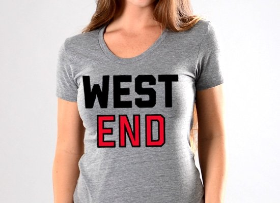 West End on Juniors T-Shirt