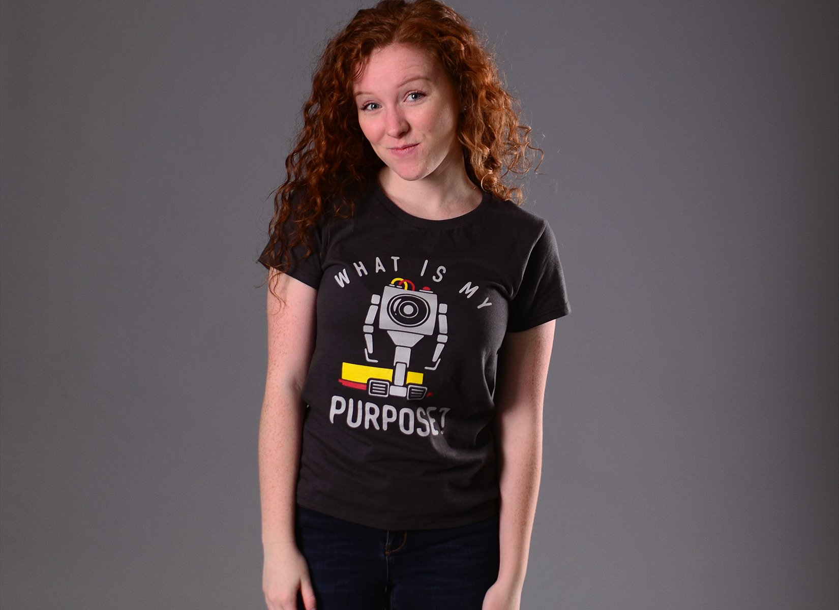 What Is My Purpose? on Womens T-Shirt