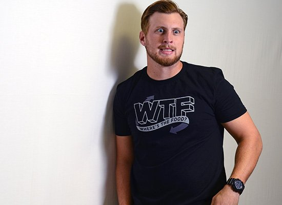Where's The Food? on Mens T-Shirt