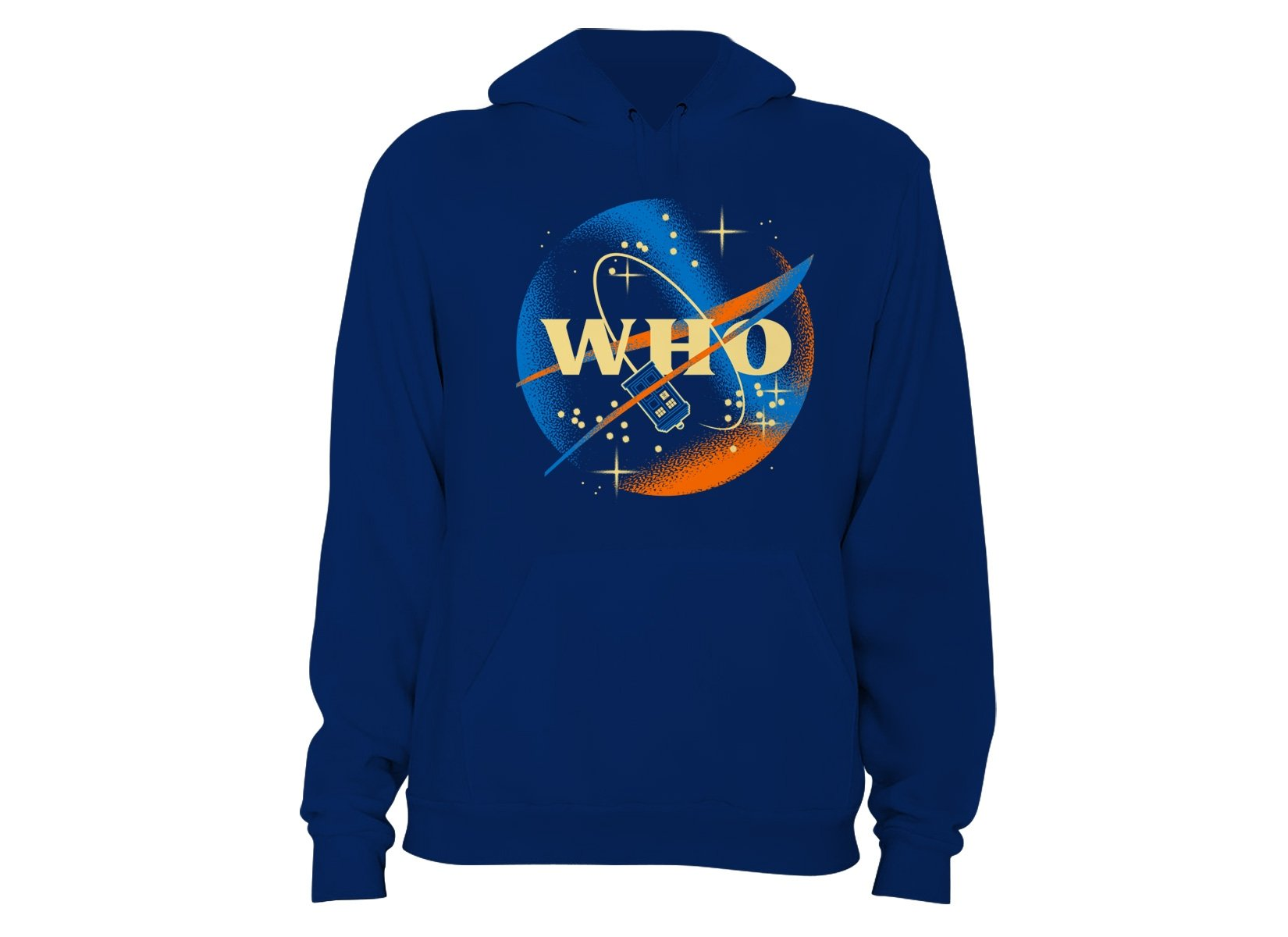 Who Space Administration on Hoodie