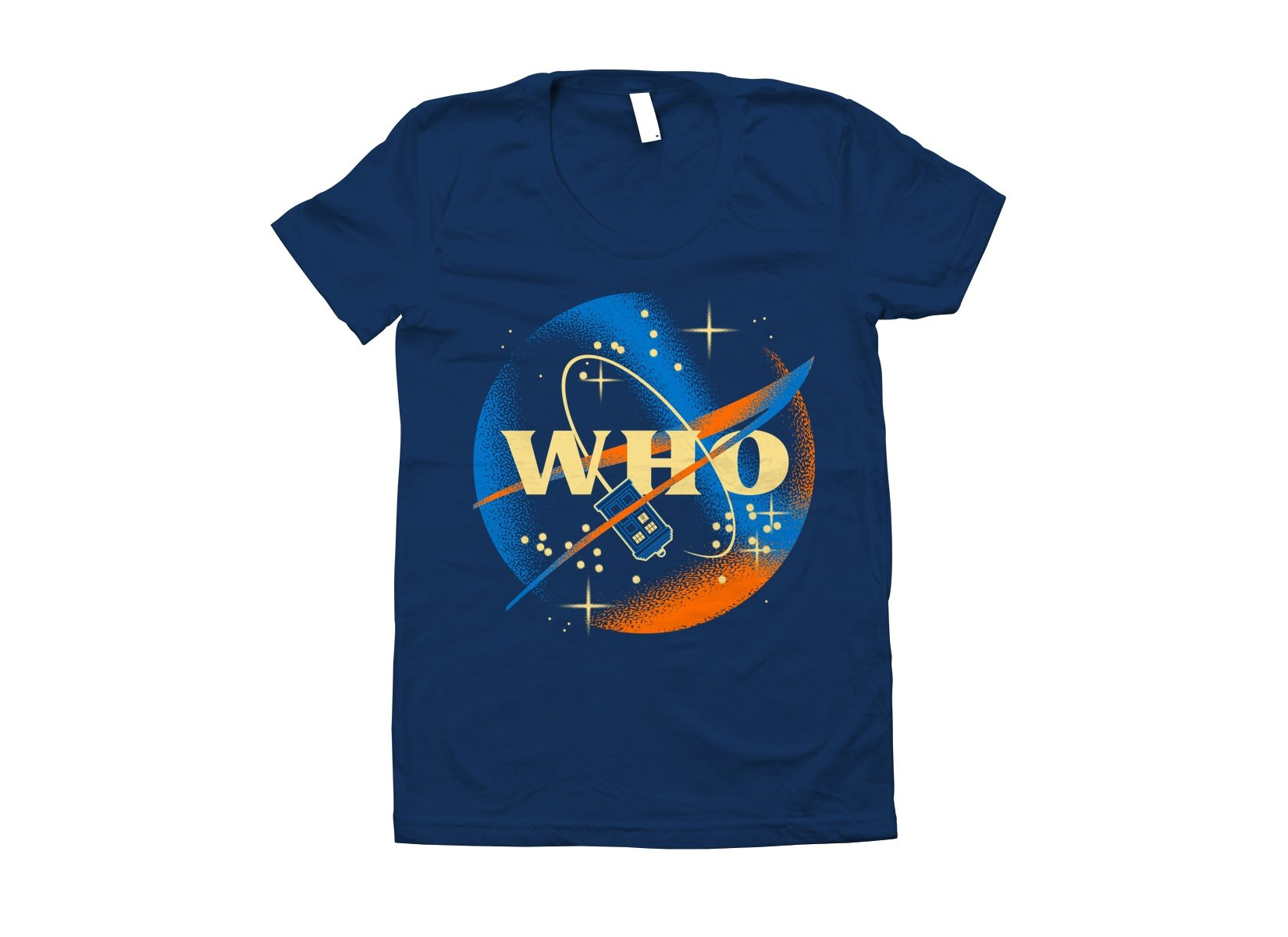 Who Space Administration on Juniors T-Shirt