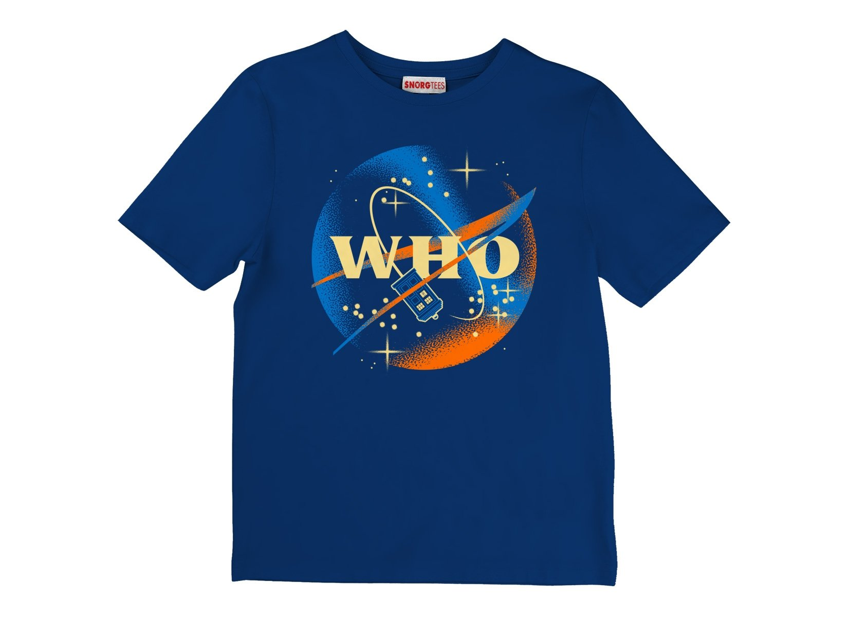 Who Space Administration on Kids T-Shirt