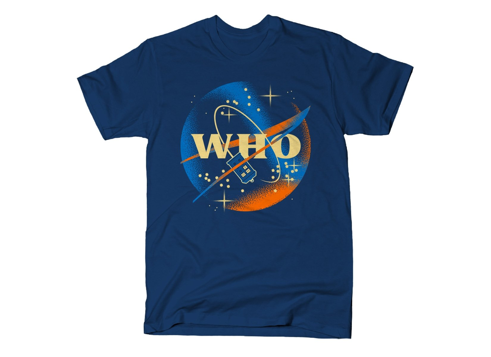 Who Space Administration on Mens T-Shirt