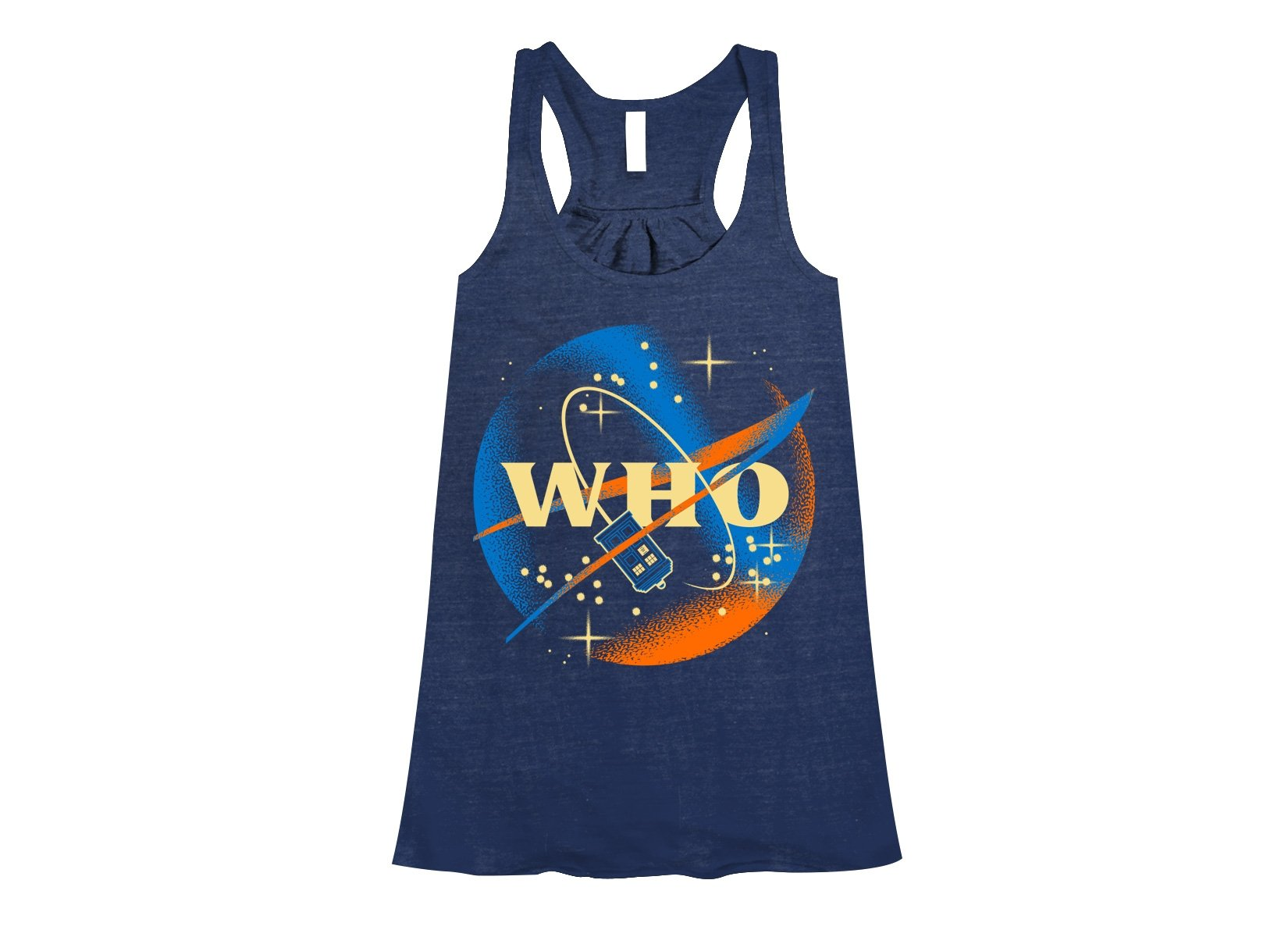 Who Space Administration on Womens Tanks T-Shirt