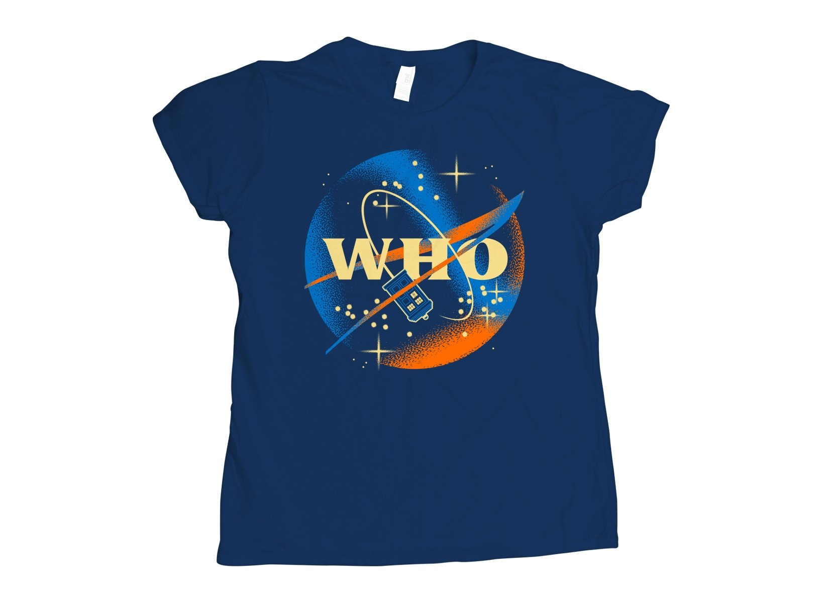 Who Space Administration on Womens T-Shirt