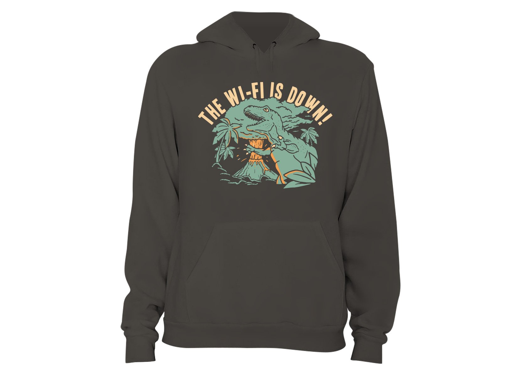 The Wi-Fi Is Down! on Hoodie