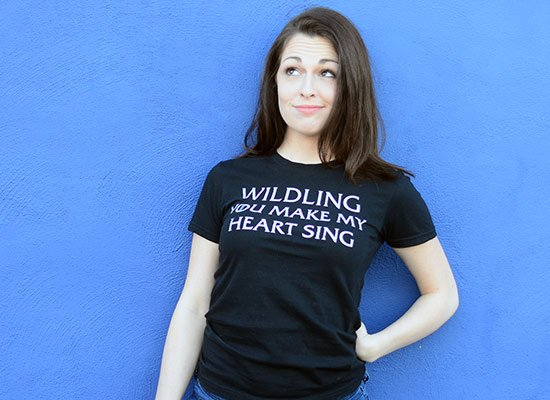 Wildling You Make My Heart Sing on Juniors T-Shirt