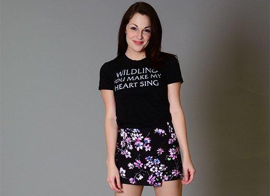 Wildling You Make My Heart Sing on Juniors T-Shirt