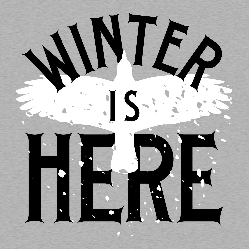 Winter Is Here T-Shirt | SnorgTees