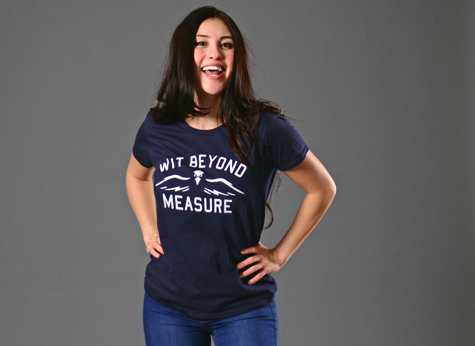 Wit Beyond Measure on Womens T-Shirt