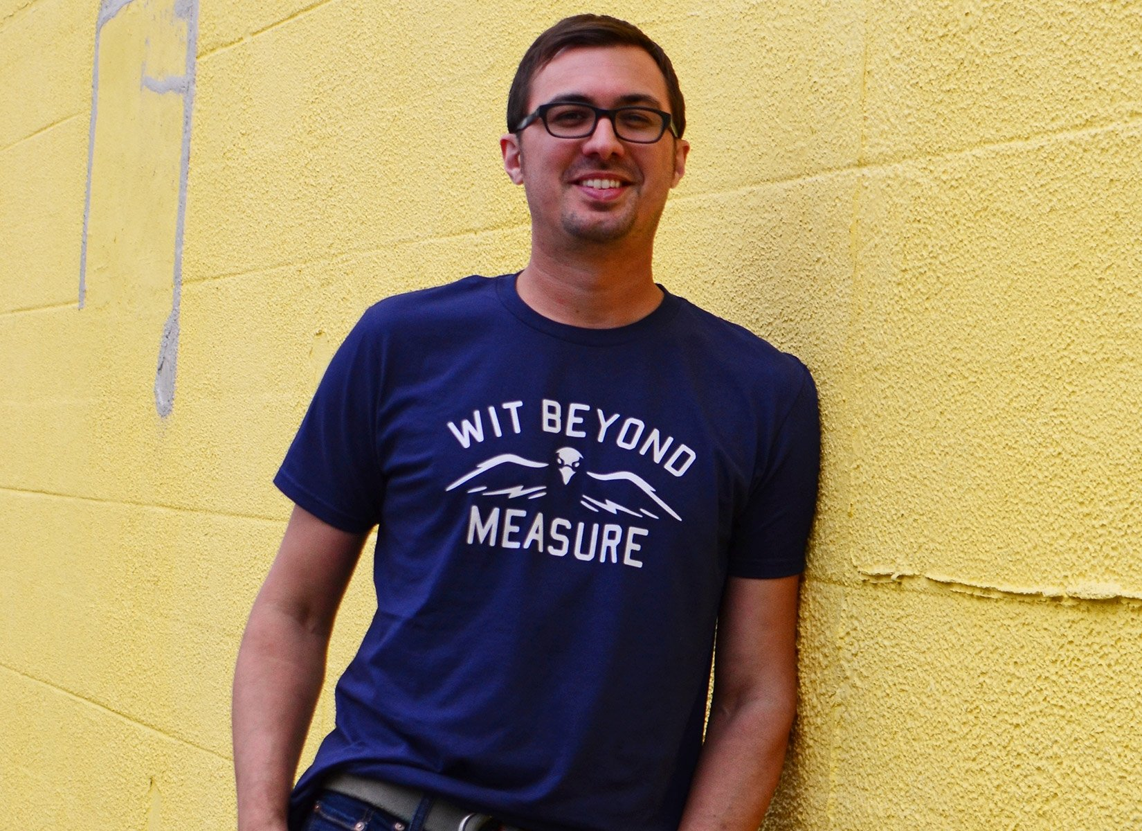Wit Beyond Measure on Mens T-Shirt