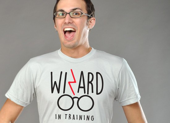 Wizard In Training on Mens T-Shirt