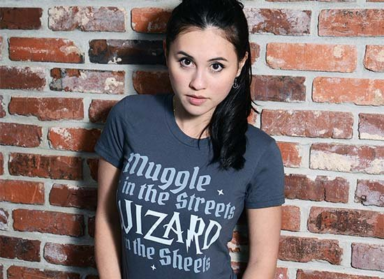 Muggle In The Streets, Wizard In The Sheets on Juniors T-Shirt