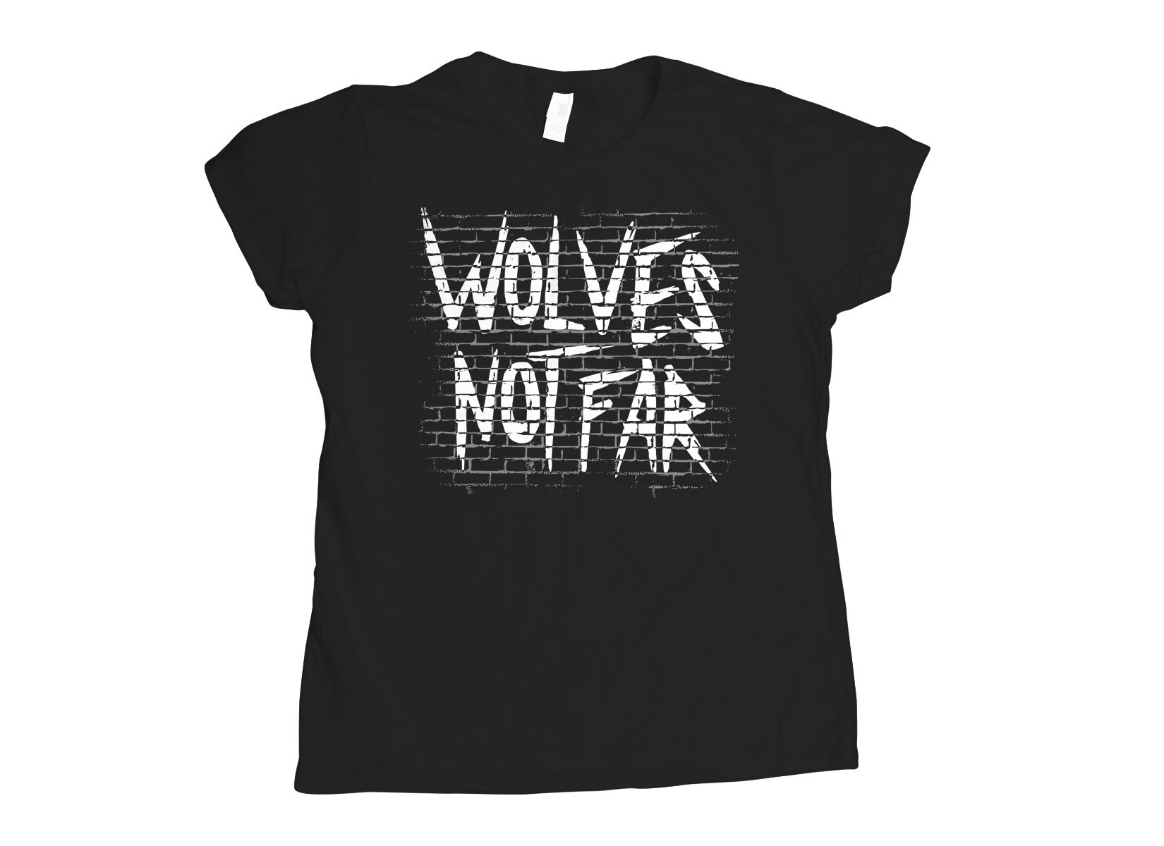 Wolves Not Far on Womens T-Shirt
