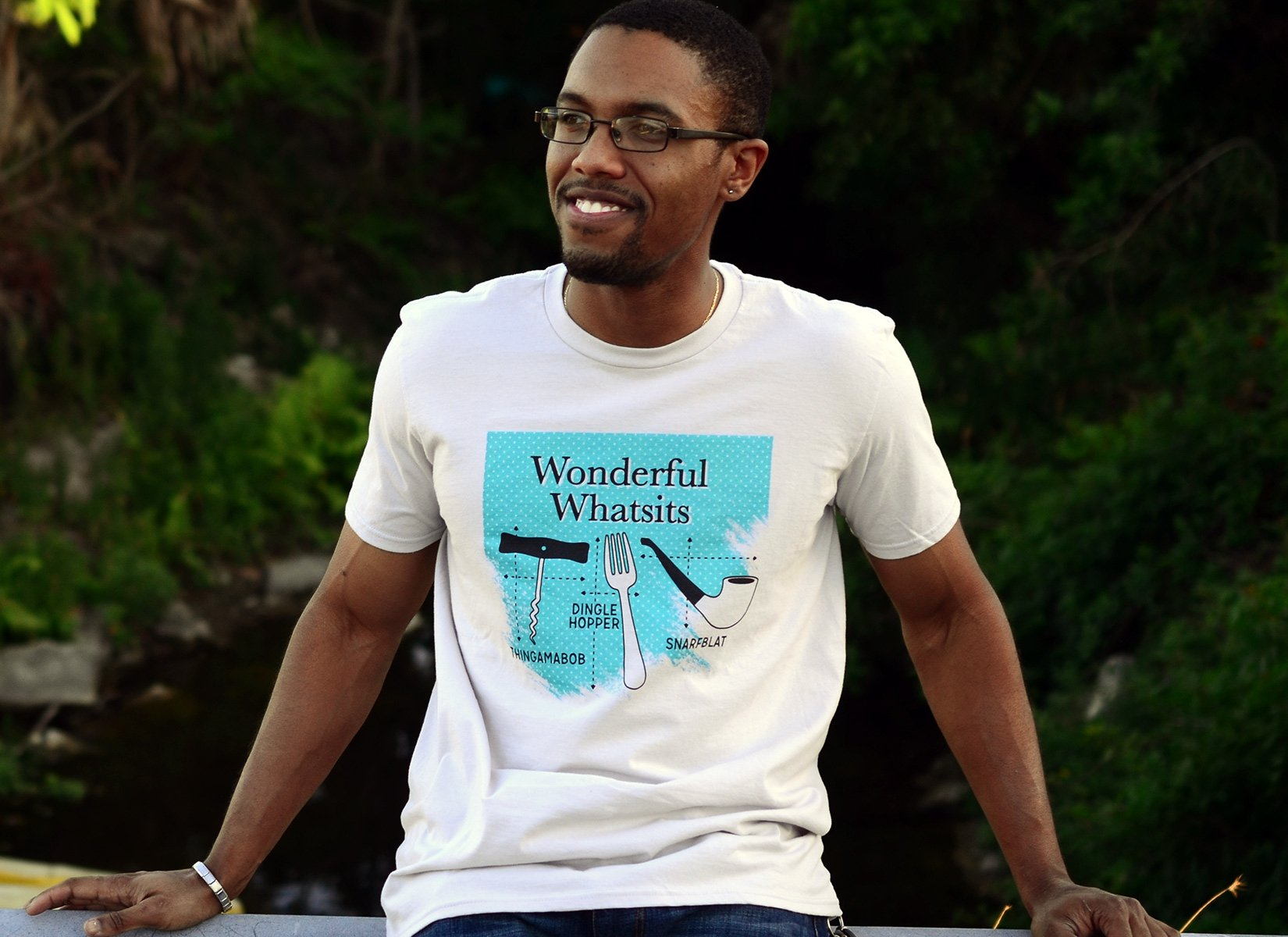 Wonderful Whatsits on Mens T-Shirt