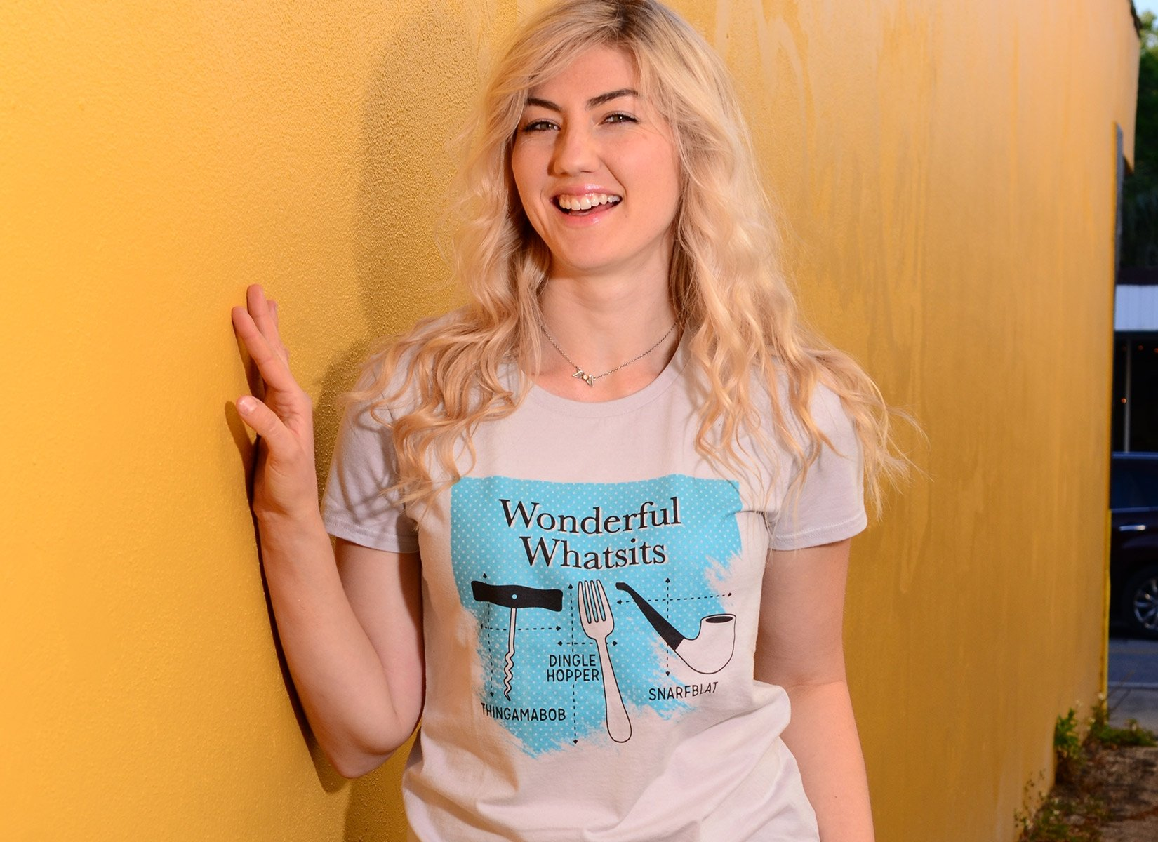 Wonderful Whatsits on Womens T-Shirt