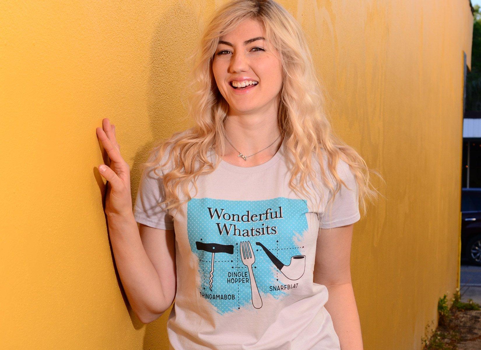 Wonderful Whatsits on Womens T-Shirt