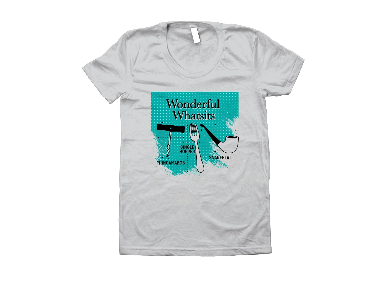 Wonderful Whatsits on Juniors T-Shirt