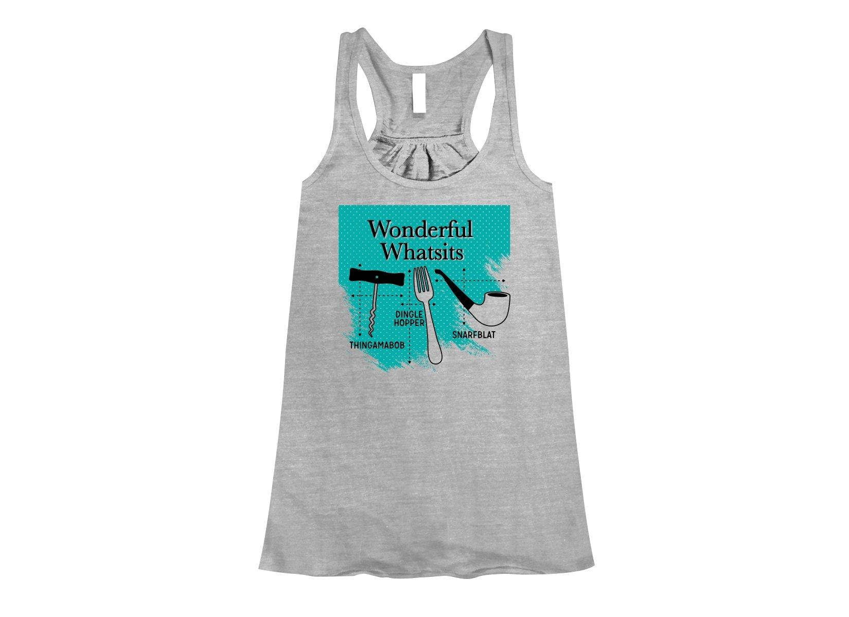 Wonderful Whatsits on Womens Tanks T-Shirt