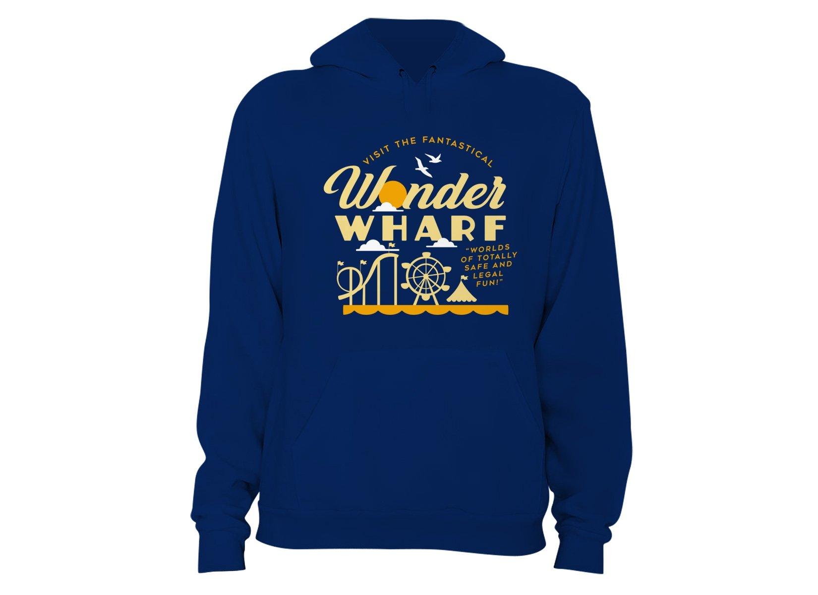 Wonder Wharf on Hoodie