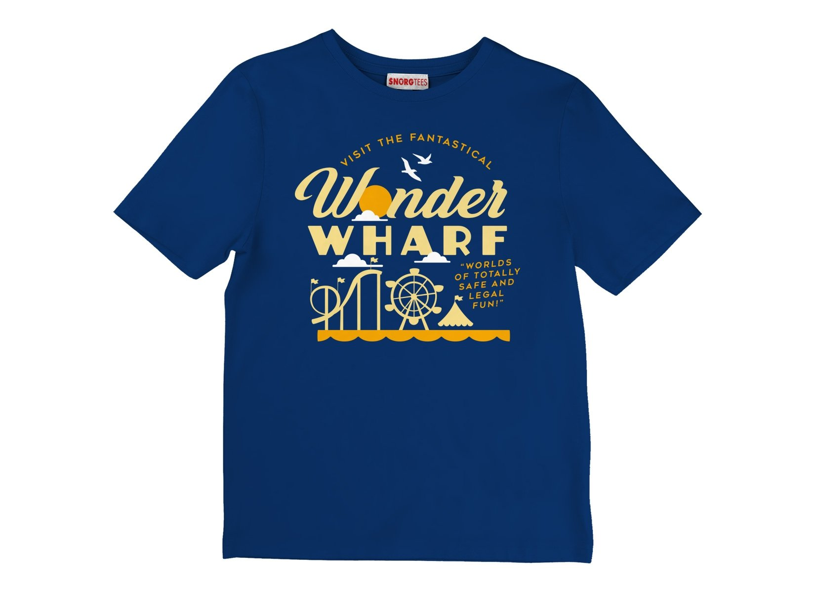 Wonder Wharf on Kids T-Shirt