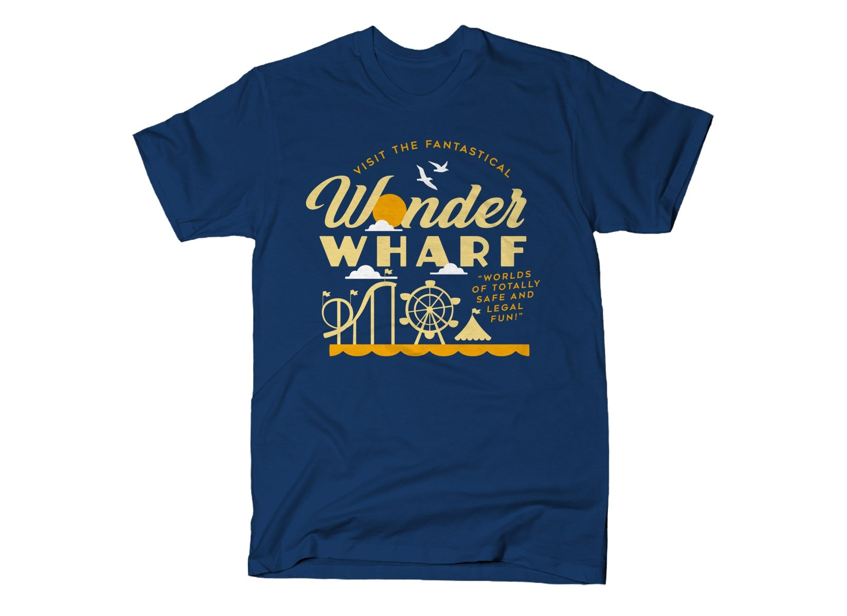 Wonder Wharf on Mens T-Shirt
