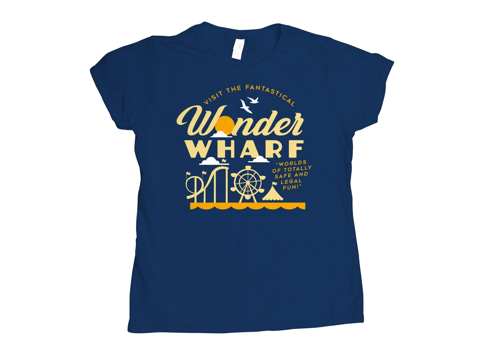 Wonder Wharf on Womens T-Shirt