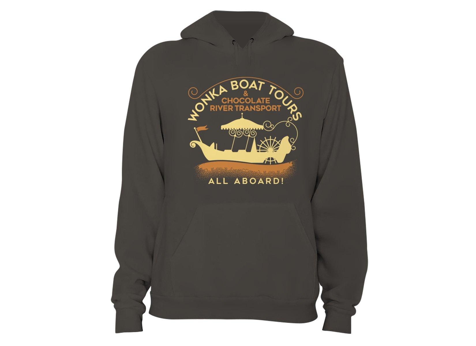 Wonka Boat Tours on Hoodie