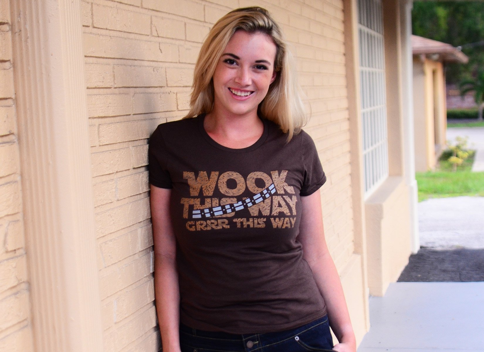 Wook This Way on Womens T-Shirt