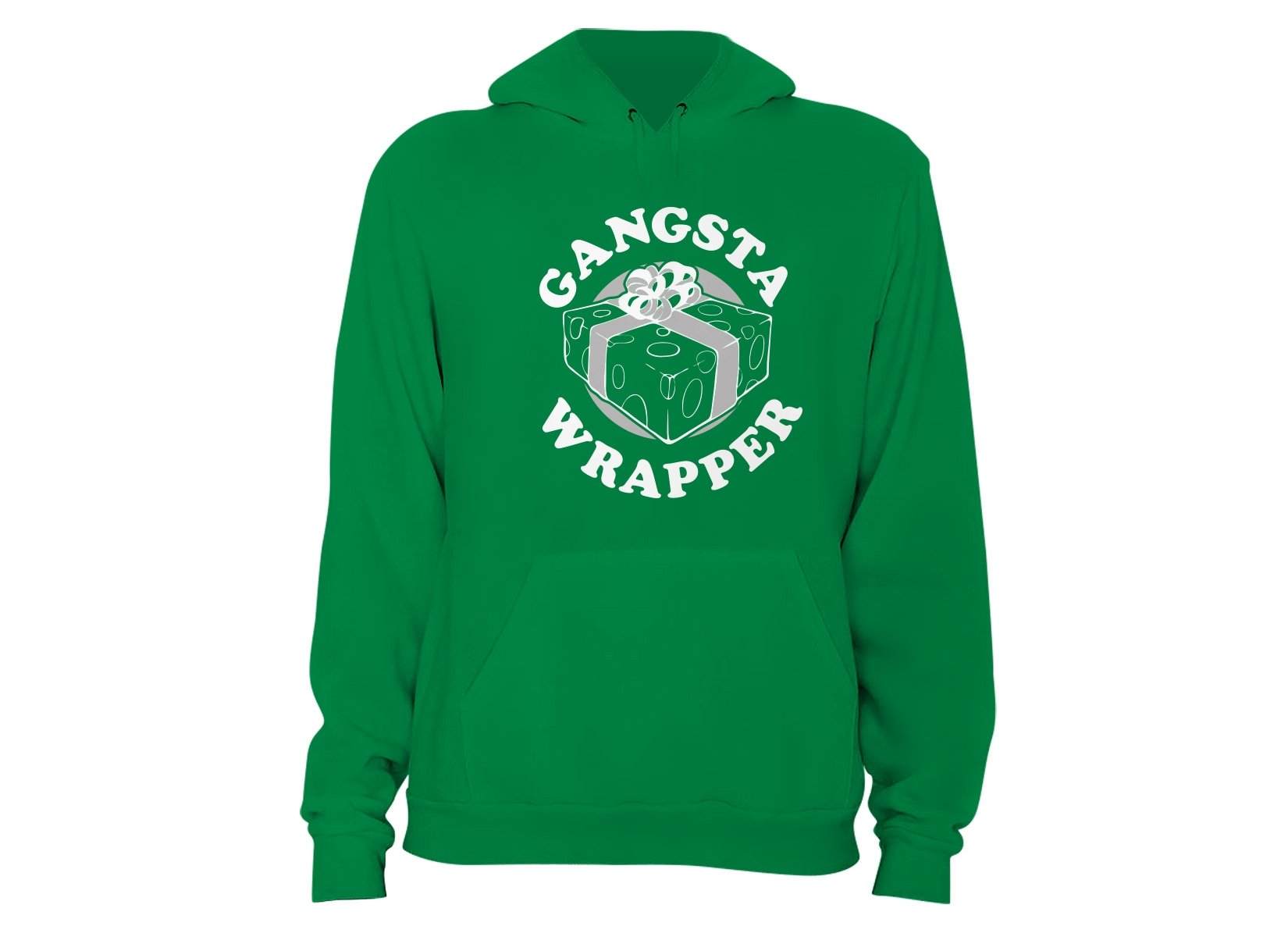 Gangsta Wrapper on Hoodie
