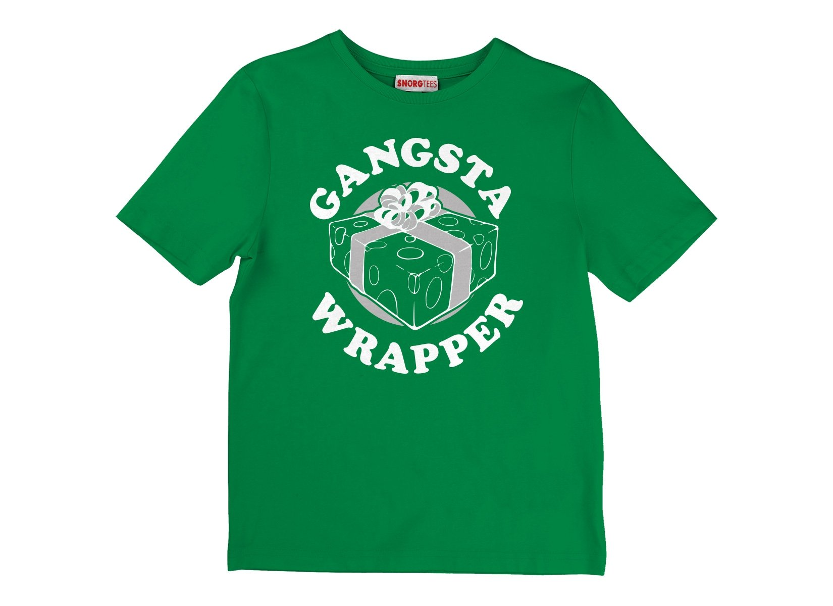 Gangsta Wrapper on Kids T-Shirt