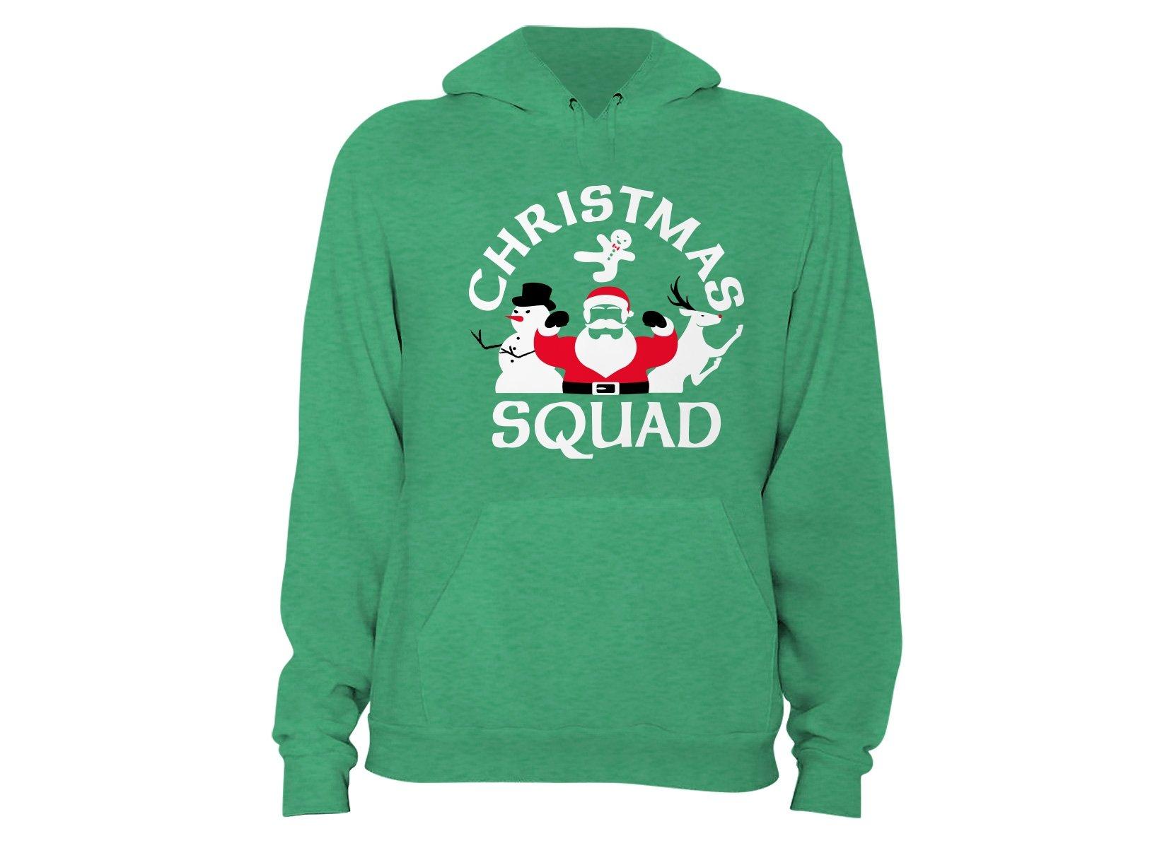 Christmas Squad on Hoodie