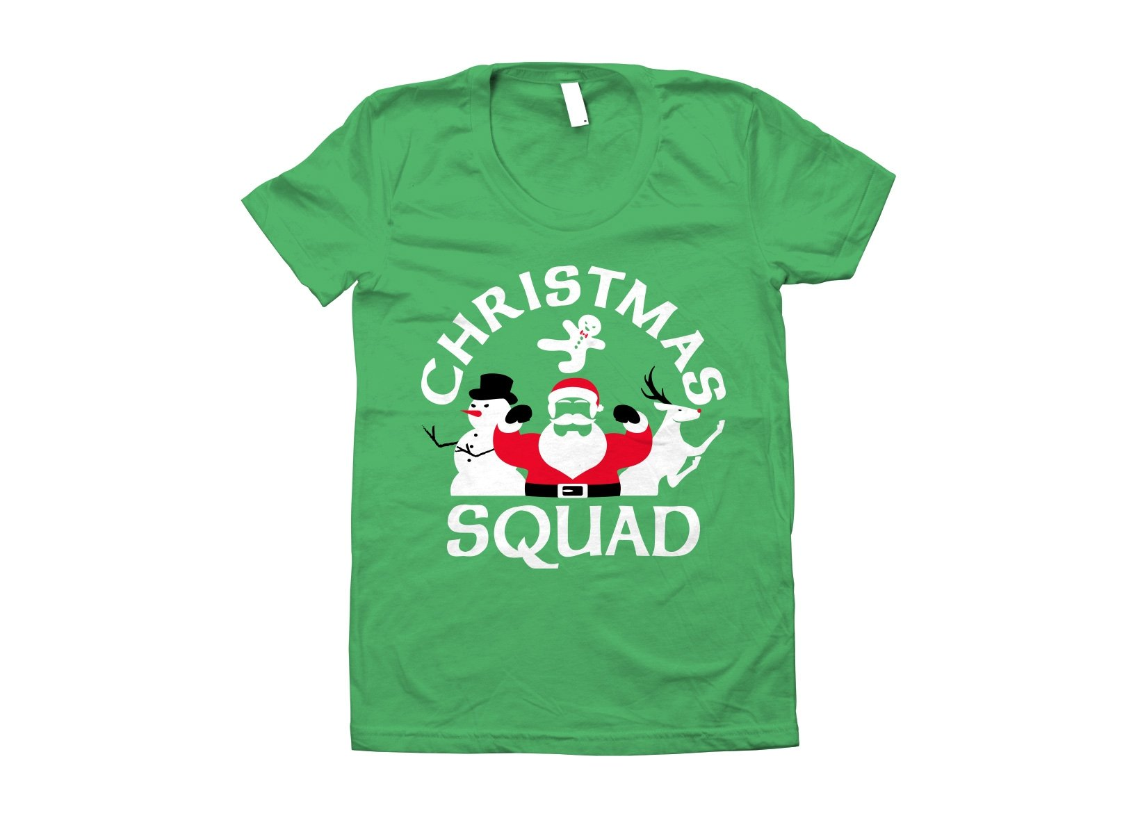 Christmas Squad on Juniors T-Shirt