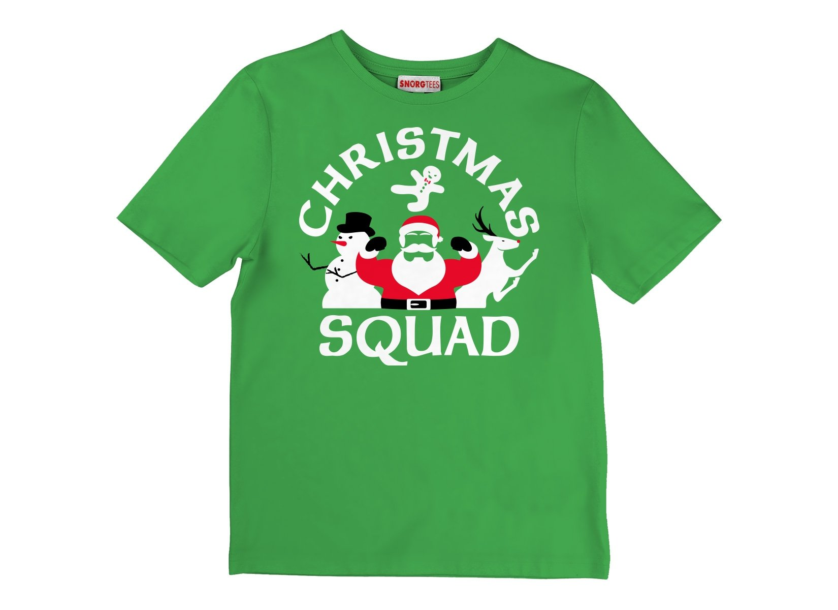 Christmas Squad on Kids T-Shirt