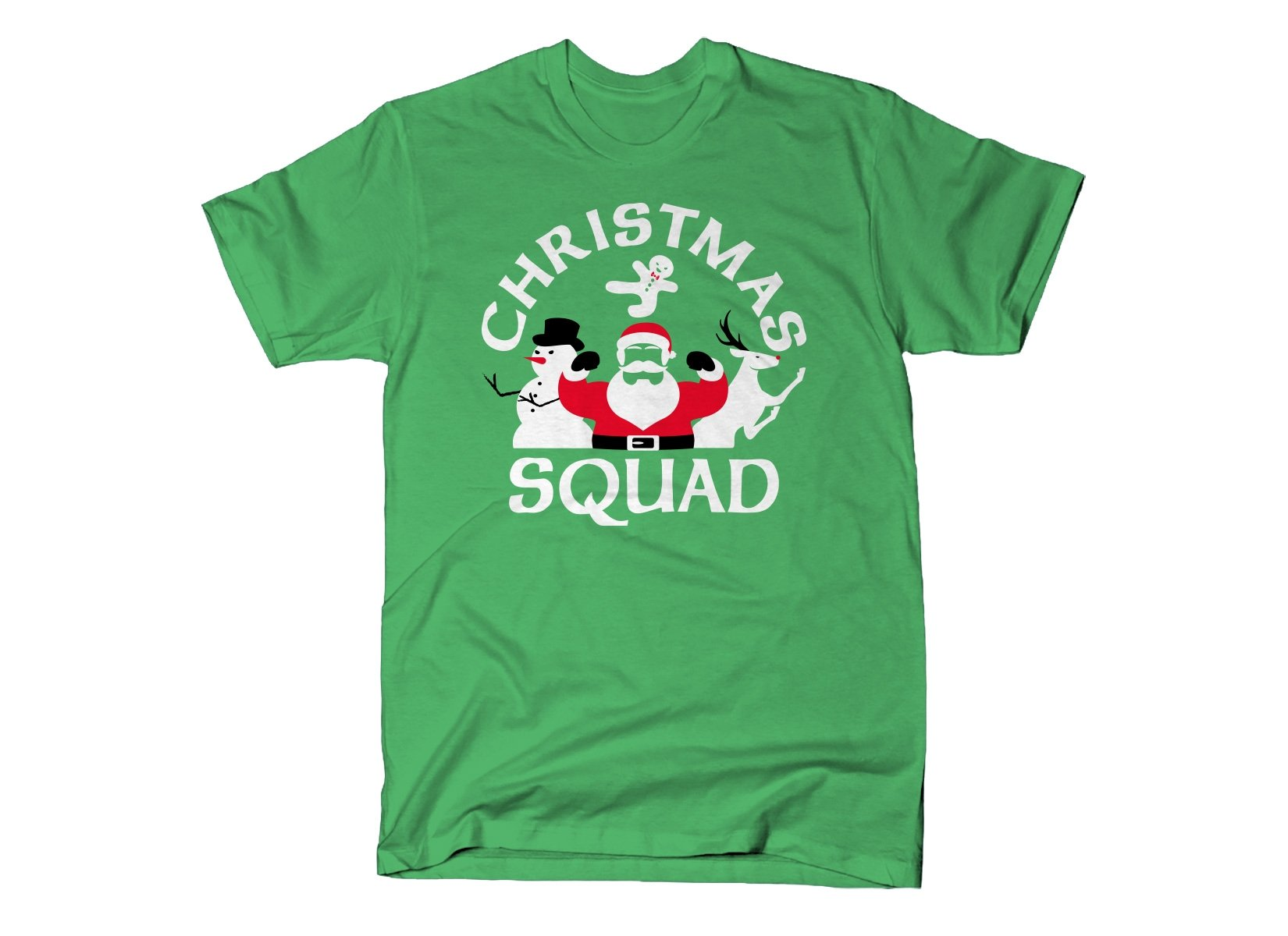 Christmas Squad on Mens T-Shirt