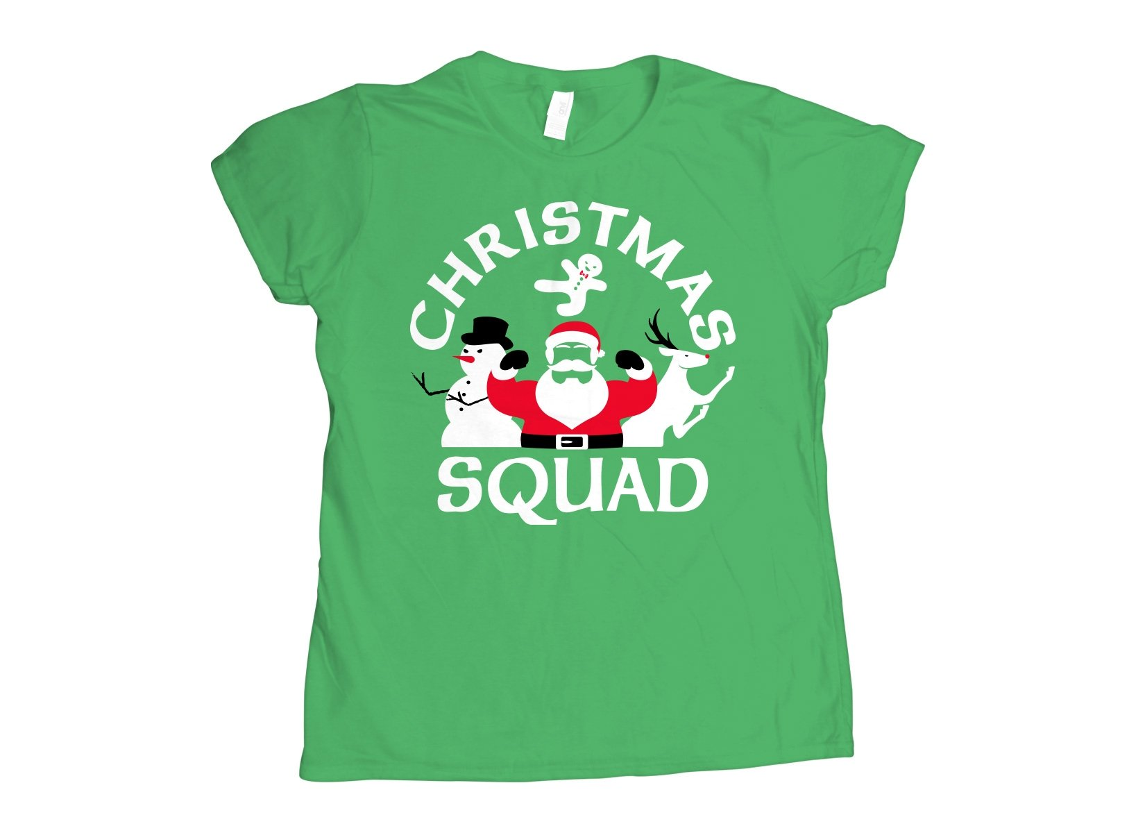 Christmas Squad on Womens T-Shirt