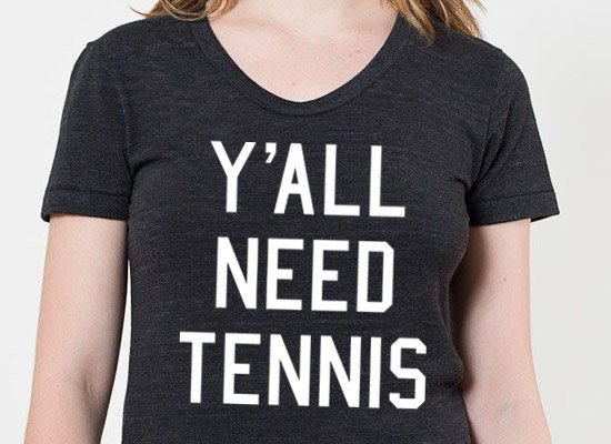 Y'all Need Tennis on Mens T-Shirt