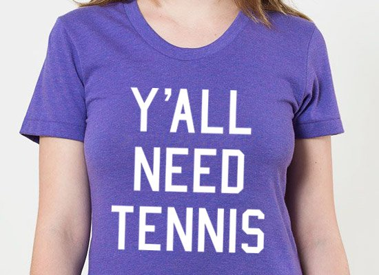 Y'all Need Tennis on Juniors T-Shirt