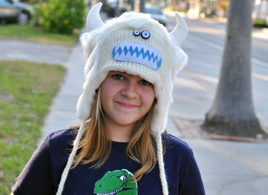 Yuki The Yeti Hat on Mens Hats