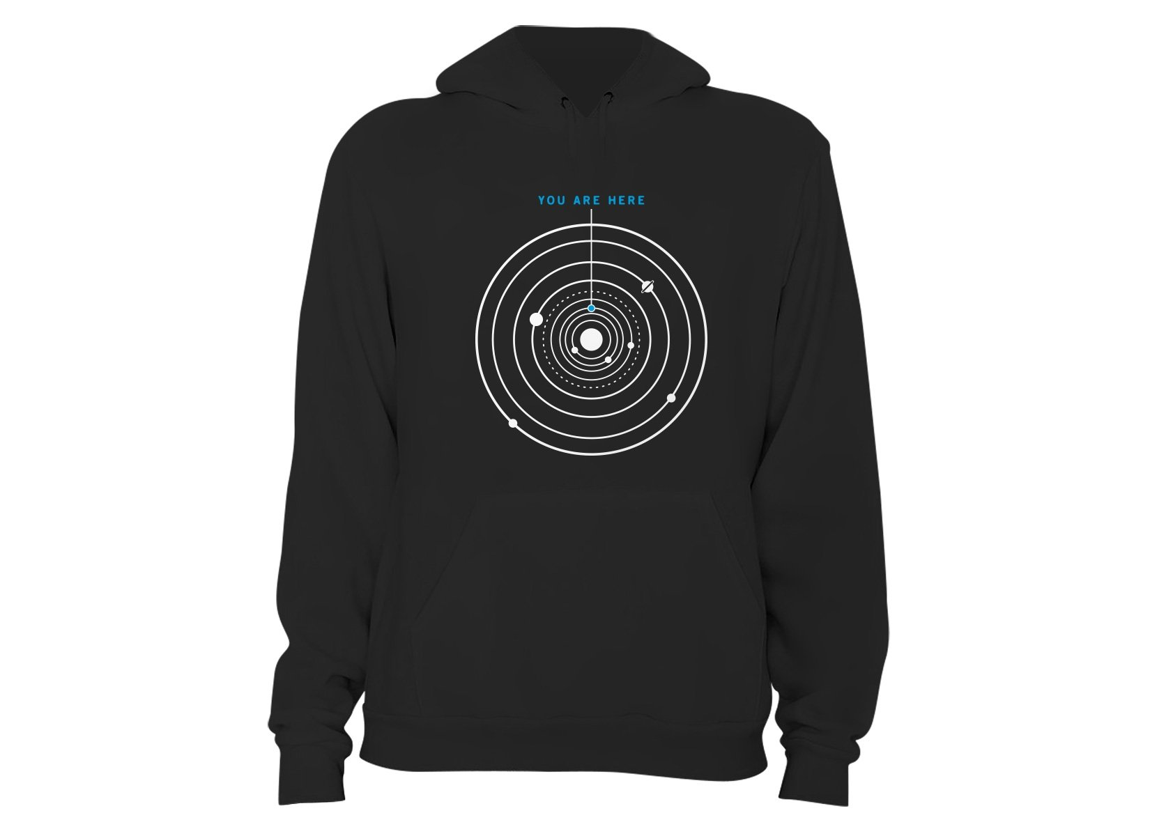 You Are Here on Hoodie