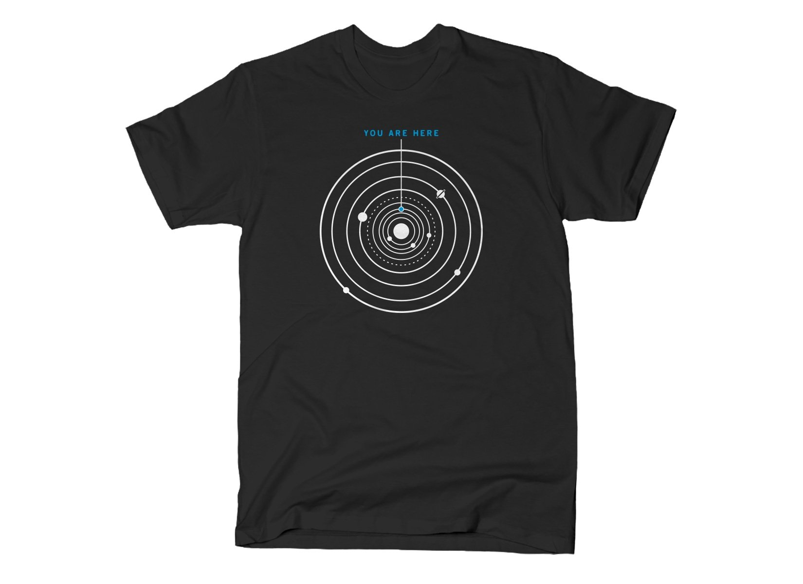 You Are Here on Mens T-Shirt